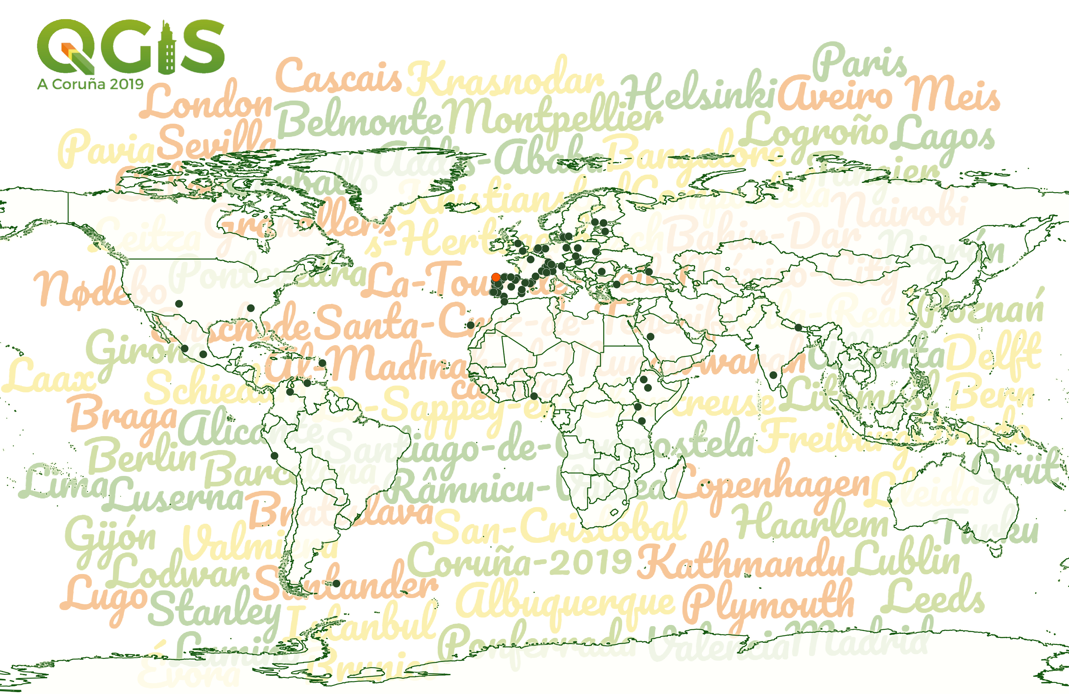 International QGIS User Conference – A Coruña 2019 (Spain)